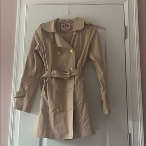 Lovely Juicy Couture Trench Coat